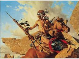 native american warrior photos