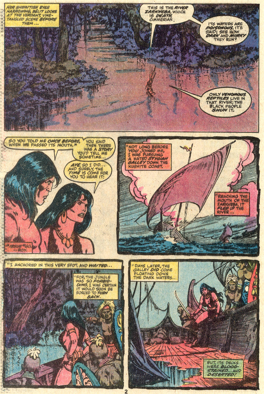 Conan the Barbarian (1970) Issue #100 #112 - English 3