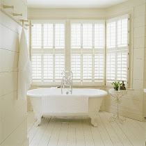 white shutters