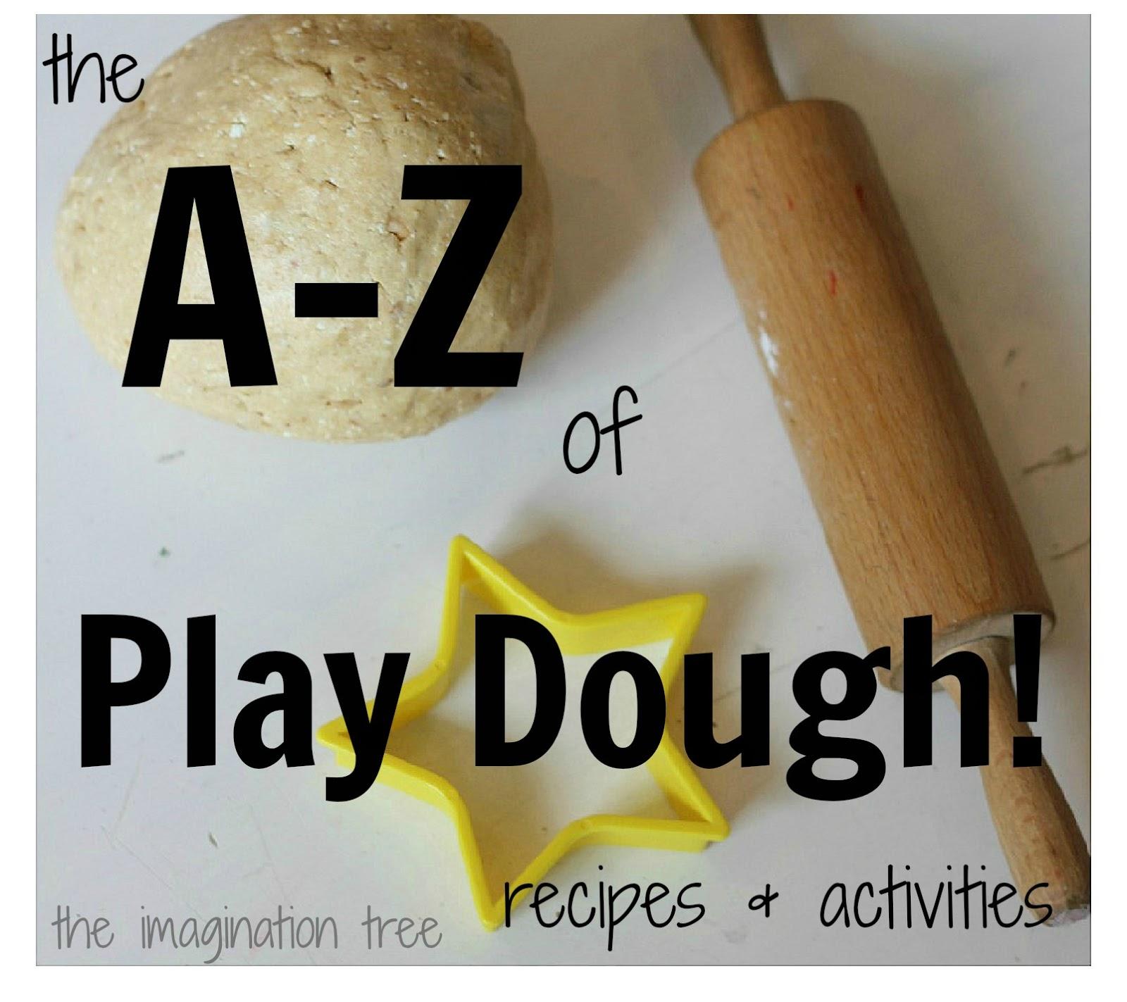 Natural Play Dough Recipe The A-z of Play Dough Recipes
