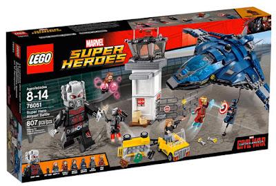 TOYS : JUGUETES - LEGO Marvel Super Heroes  Captain America : Civil War  76051 Superheroes Batalla en el aeropuerto  Super Hero Airport Battle  Producto Oficial Película 2016 | Piezas: 807 | Edad: 8-14 años  Comprar en Amazon España & buy Amazon USA