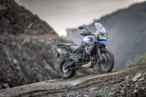Triumph Tiger 800 XC Redesigned and Pricing