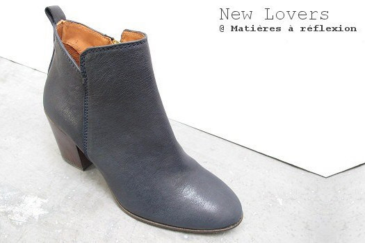 Low boots cuir New lovers