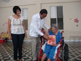 Fundación Don José realizo este fin de semana una fiesta agasajo a los ancianos Asilo Cart Theodore George