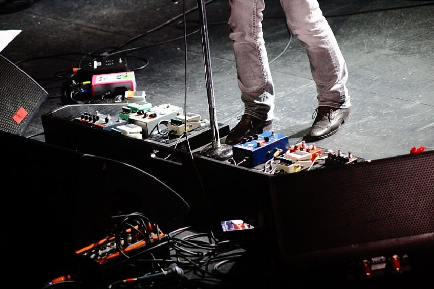 Noel Gallagher Pedalboard