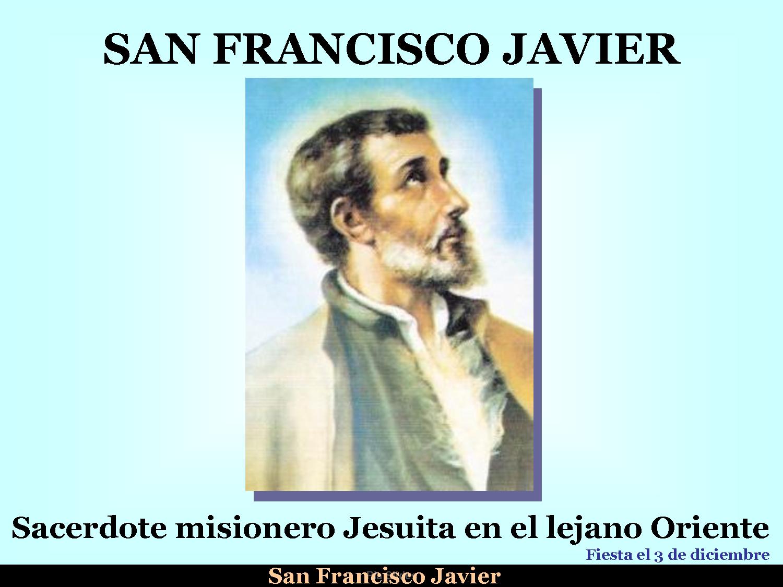 historia de san javier: