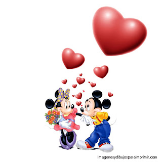Mickey mouse quiere a minnie mouse