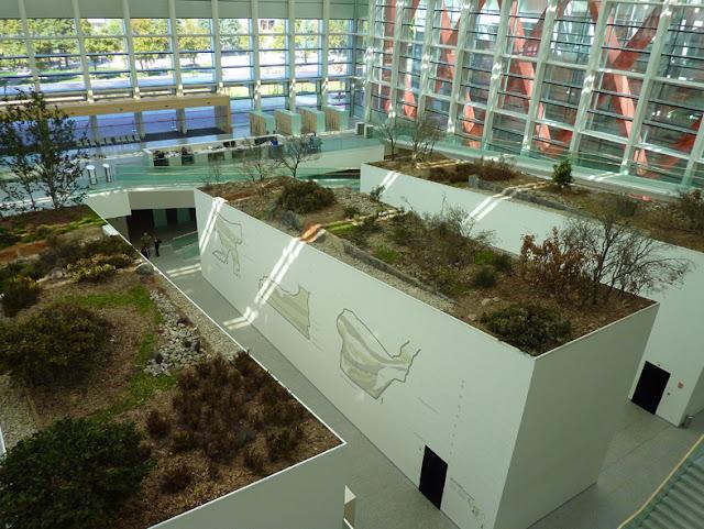 Vista del Museo de la Evolucion Humana en Burgos
