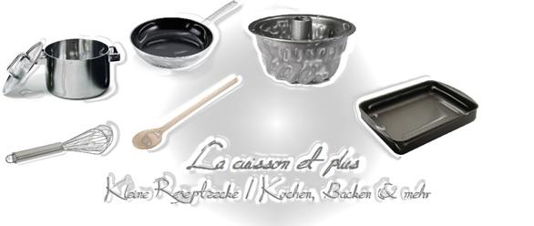 Kleine Rezepteecke - Kochen, Backen & mehr