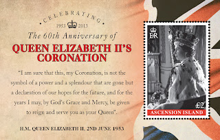 Ascension Island: Celebrating the 60th Anniversary of The Coronation of HM Queen Elizabeth II