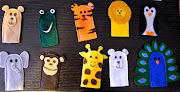 So I thought a set of zoo animals finger puppets would be perfect for them!