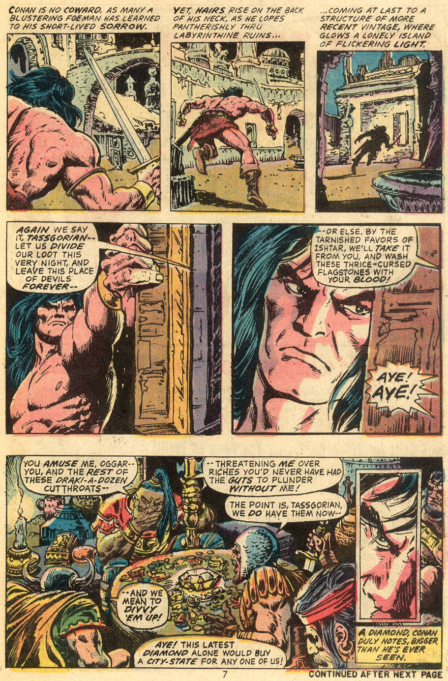 Conan the Barbarian (1970) Issue #40 #52 - English 6