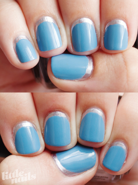 Little Nails: Blue Moon Manicure