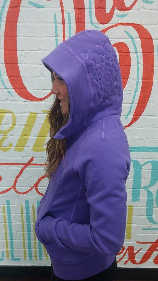 lululemon power purple scuba