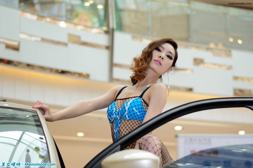 Cars stroke photographed fishnet stockings sexy debut