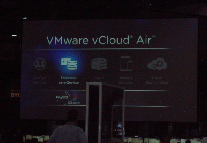 VMWorld Barcelona 2014 - (3 de 6)  - VMWare vCloud Air