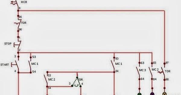 ilmu listrik  Rangkaian Motor Tiga Fasa Dengan    Star       Delta