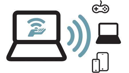 Create WiFi hotspot