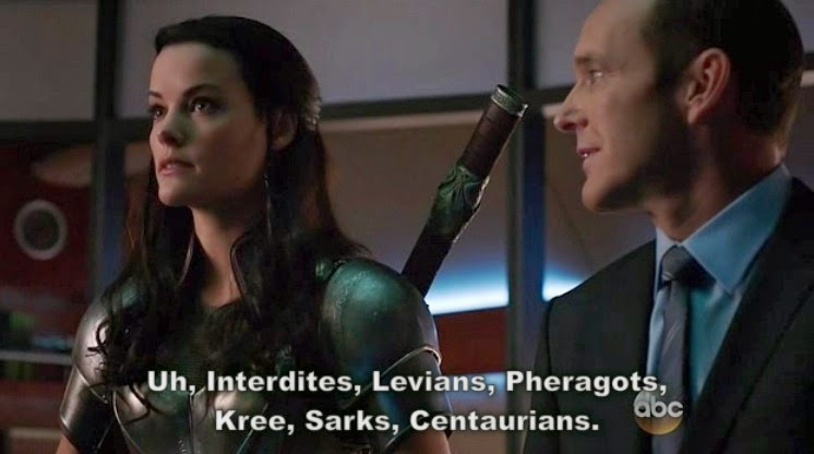 Agents of SHIELD Lady Sif Episodio 15