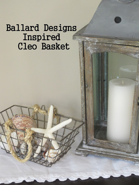 Ballard Designs Wire Basket