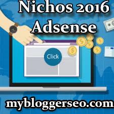 Melhores Nichos Lucrativos no  Adsense 2016