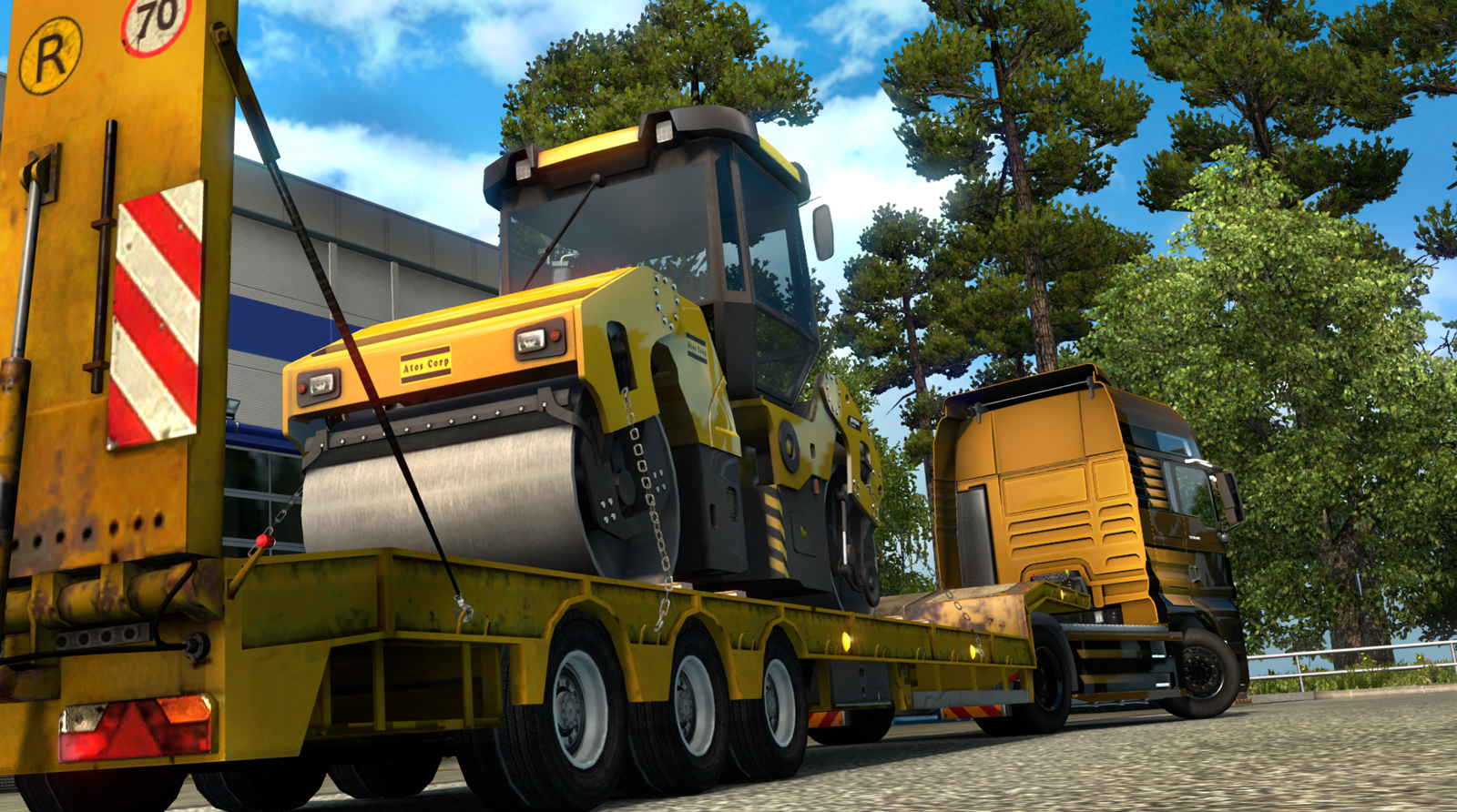 Game Euro Truck Simulator 2 v1.15.1.1s FL For PC Terbaru Gratis