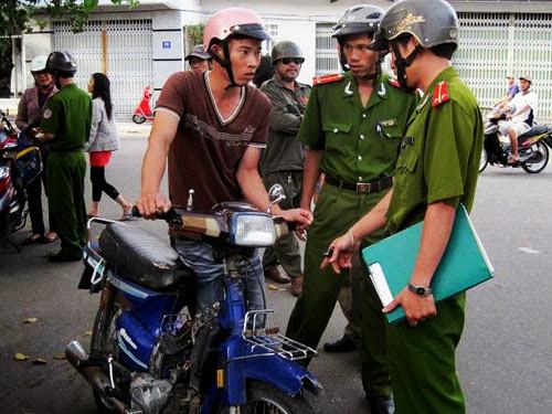 Công an xã, phường có được xử phạt vi phạm giao thông ?