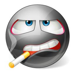 Smoking Smiley