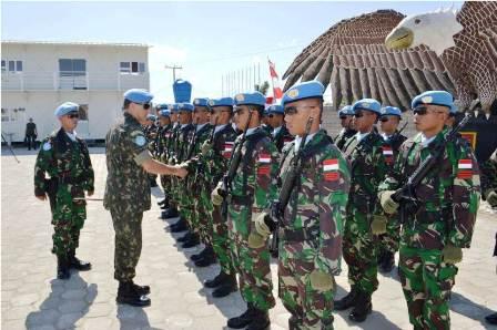 Force Commander Kunjungi Camp Satgas Kizi TNI di Haiti