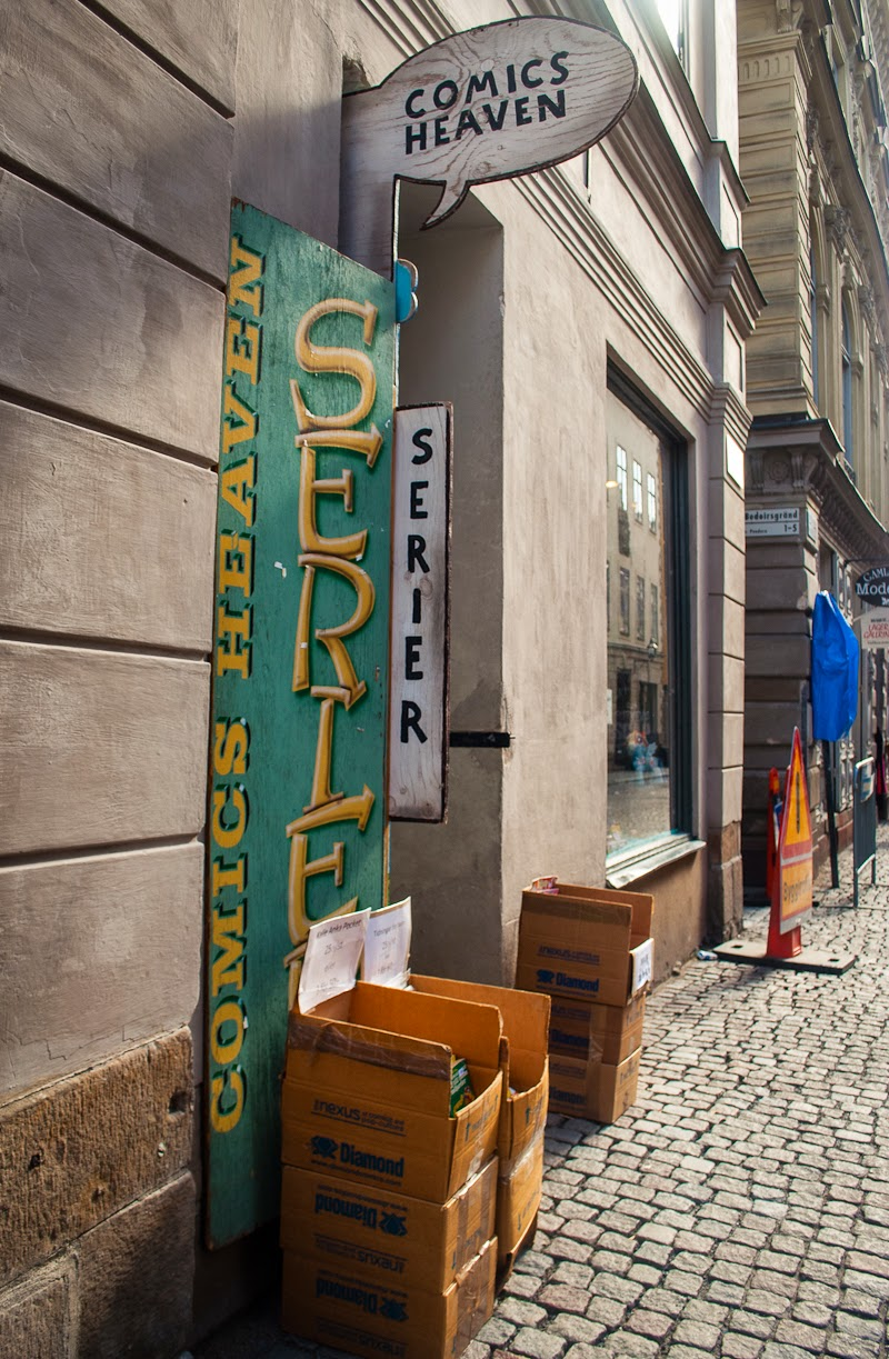 comics heaven gamla stan stockholm
