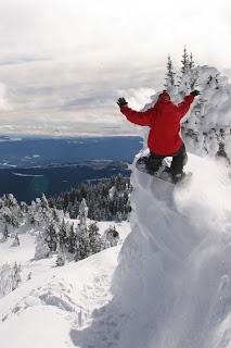 Snowboard iPhone Wallpaper