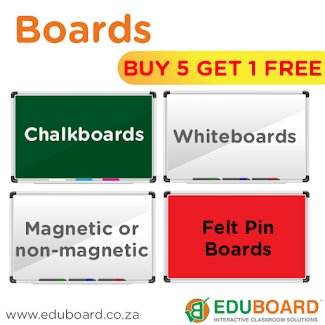 SPECIAL offer on whiteboards and chalkboards