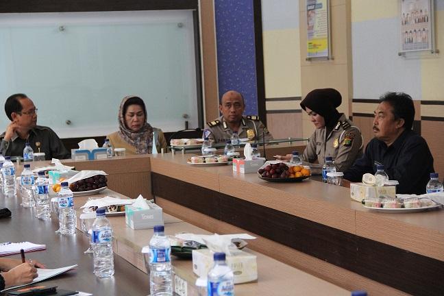DPRD Provinsi Banten Kunjungi Samsat Depok