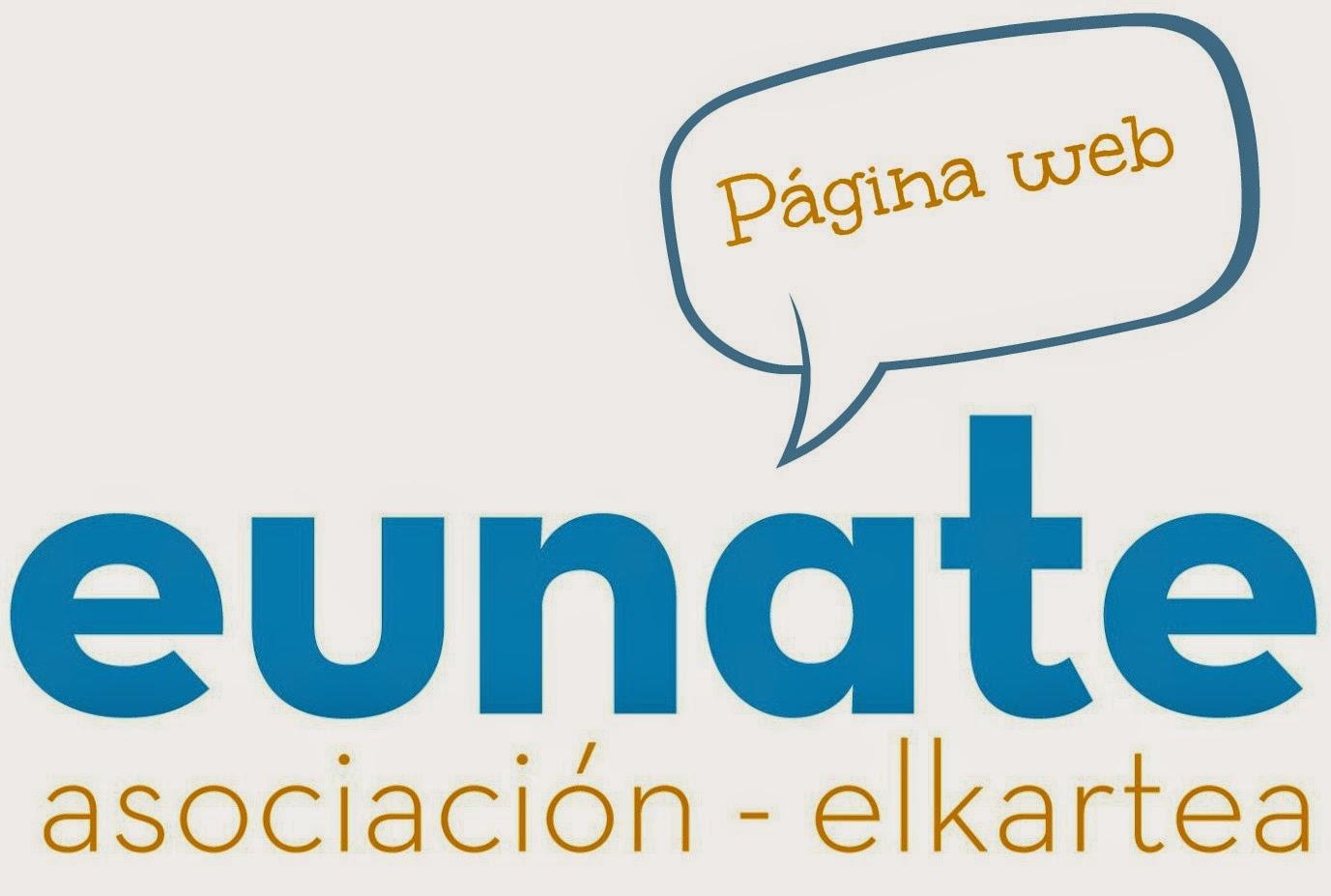 Web Asociación Eunate