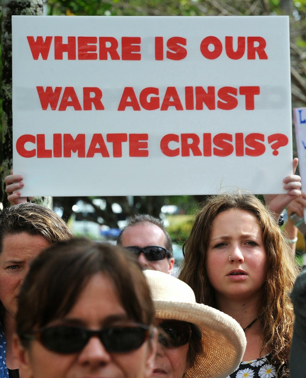 Where is our War On Climate Change?