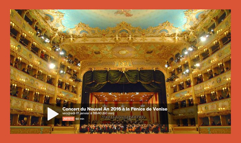concert fenice venise