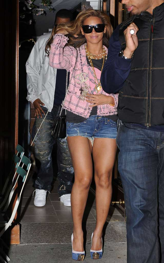 Fashionjewellery Beyonce Knowles Jean Shorts
