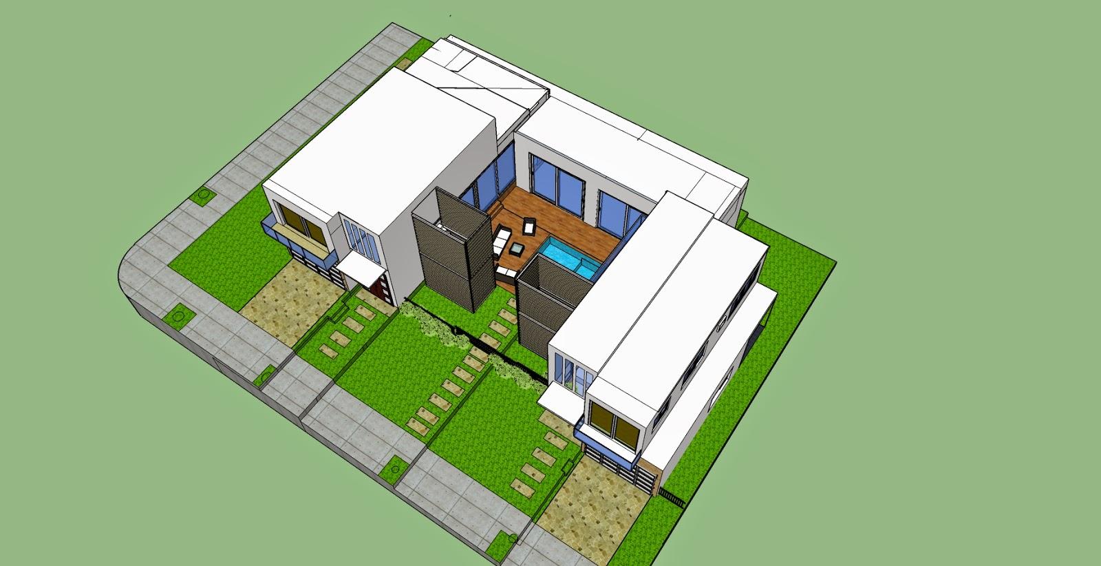 Arquitectura universidad del norte planos casa bifamiliar - Cuanto me costaria construir una casa ...