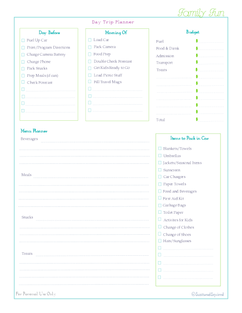 free printable checklist home management binder