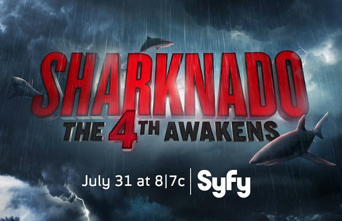 """Sharnado: The 4th Awakens"" Touches Down on 7/31/16"