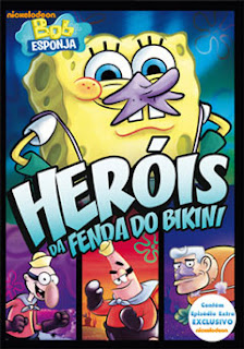 Download Bob Esponja: Heróis da Fenda do Bikini   DVDRip RMVB Dublado