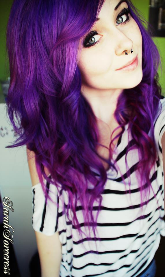 Gorgeous GalleryBluish Purple Hair