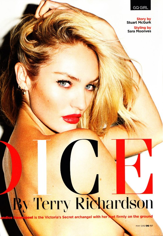 Candice Swanepoel     GQ  UK      May 2012