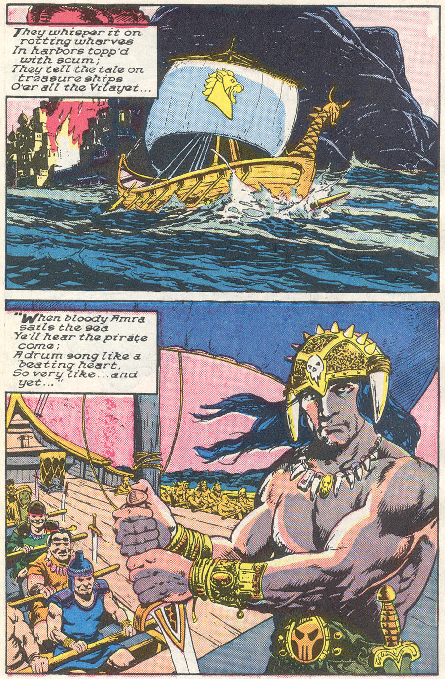 Conan the Barbarian (1970) Issue #221 #233 - English 21