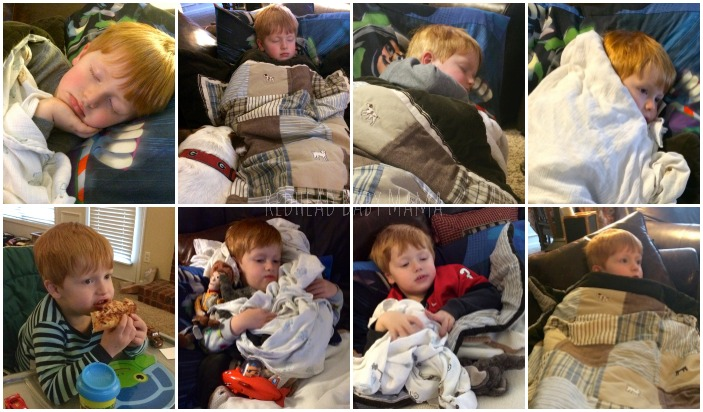 how to fall asleep easily when sick