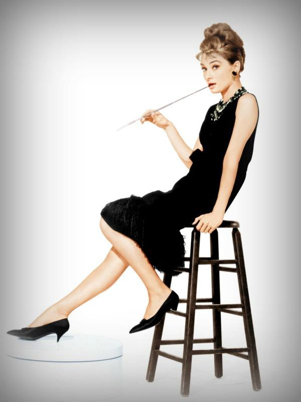 """Audrey Hepburn, em """"Bonequinha de Luxo"""", 1961"""