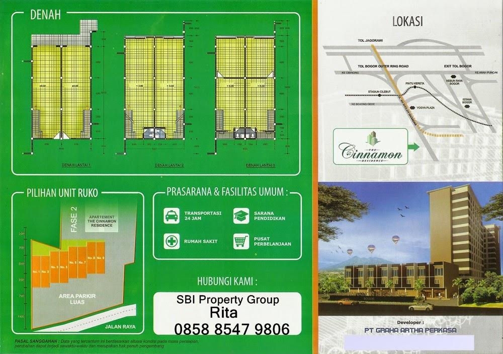 The Cinnamon Residence, Bogor. Perumahan di kota Bogor