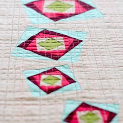 Freezing Rain Table Runner Pattern