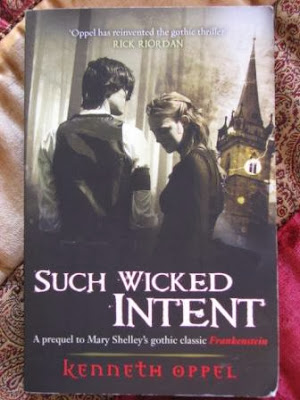Such Wicked Intent by Kenneth Oppel, UK, paperback cover