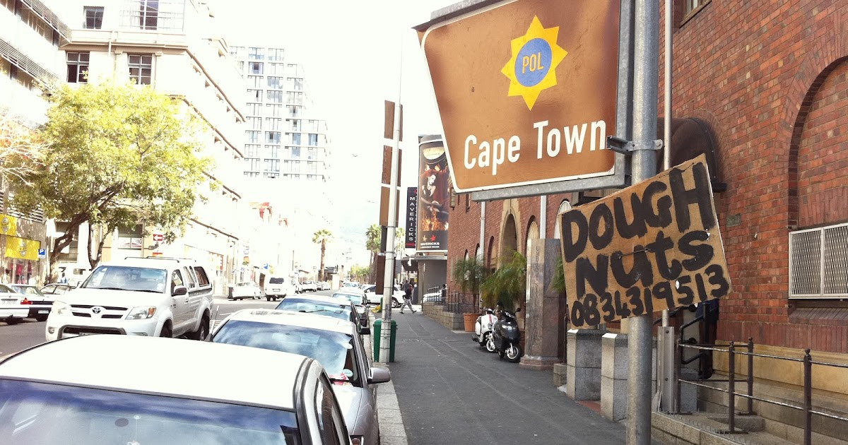 0834319513: doughnuts _ cape town police station _ buitenkant str